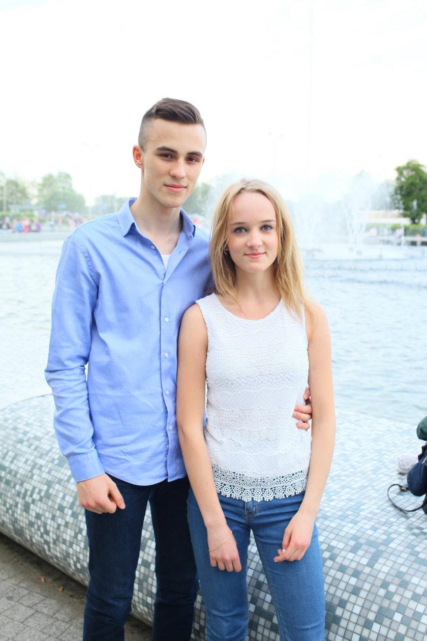Karolina Somoraj (20 l.) i Jakub Wolski (19 l.)