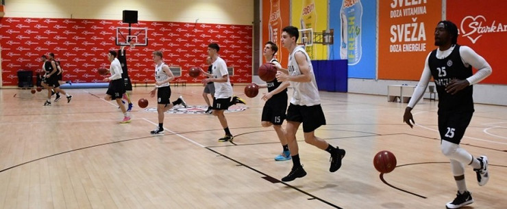 KK Partizan počeo sa treninzima u dvorani