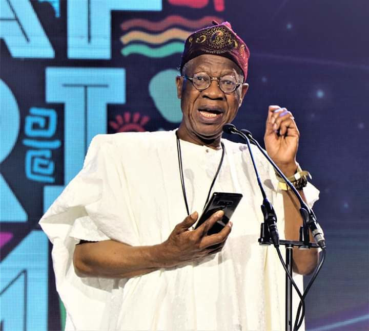 Minister of Information and Culture, Lai Mohammed [FMIC]