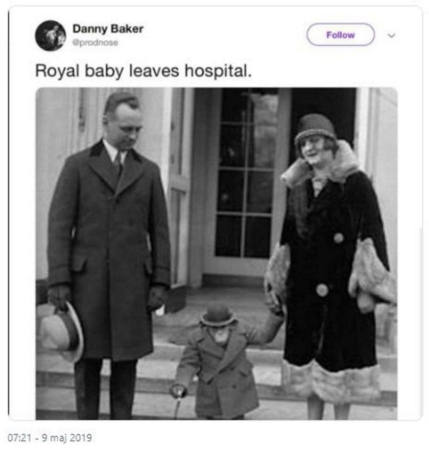 Dziennikarz Danny Barker próbował zakpić ze szczęścia Meghan i Harry'ego?