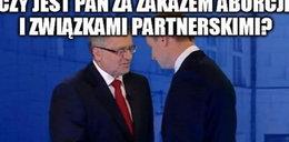 Memy z debaty w TVN