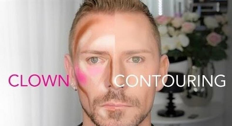 Wayne Goss illustrates Clown contouring