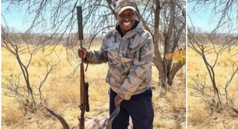 Kenyan Ambassador to Namibia Benjamin Langat under fire for engaging in game hunting
