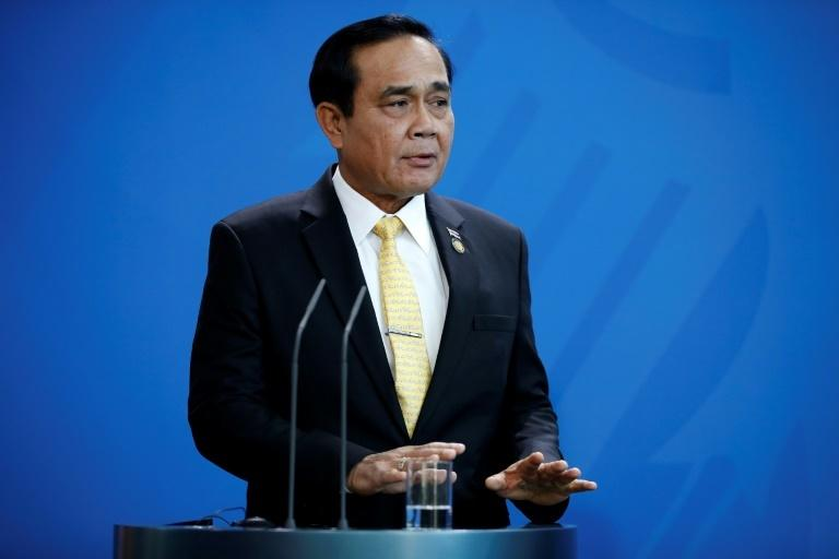 Thai Prime Minister General Prayut Chan-O-Cha, pictured here in November 2018, dismissed rumours of an impending coup as 'fake news'