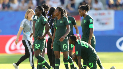 Super Falcons lose 3-0 to Germany to crash out of 2019 FIFA Women's World Cup