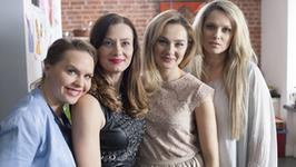 Małgorzata Socha, Anita Sokołowska i Joanna Liszowska wróciły na plan