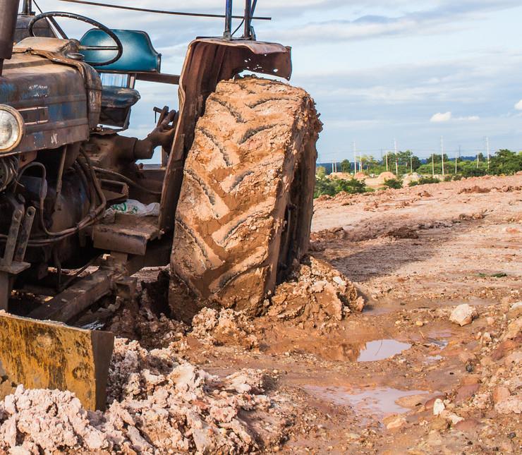 blato, traktor