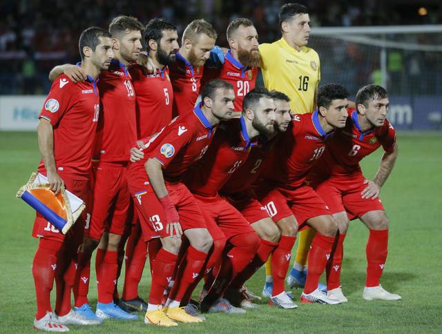 Fudbalska reprezentacija Jermenije