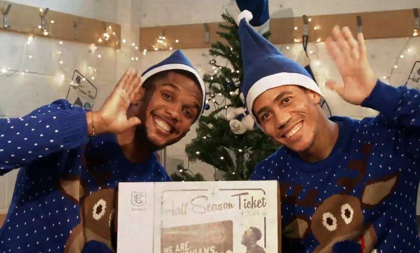 Świetna świąteczna reklama Evertonu