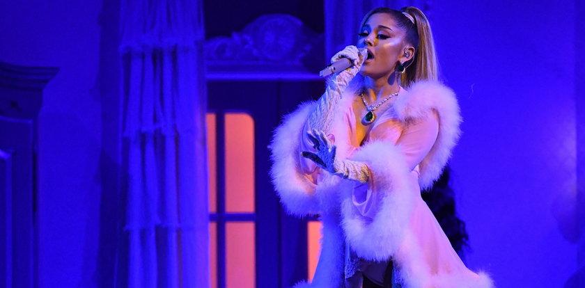 Ariana Grande boi się o swoje życie. Psychofan próbował wtargnąć na jej posesję. Miał przy sobie myśliwski nóż!