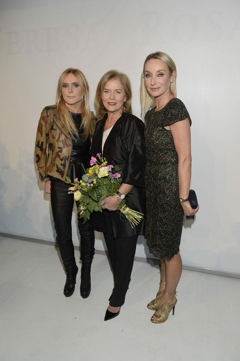 Monika Olejnik, Dorota Williams i Teresa Rosati