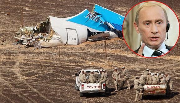 Svi putnici i članovi posade ruskog aviona su poginuli na licu mesta