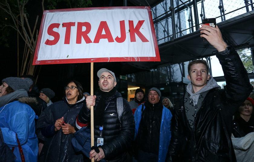 Strajk pracowników LOT-u