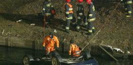 Pijany kierowca wpadł autem do kanału!