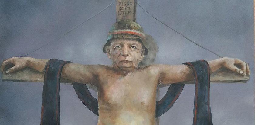 Grożą mu, bo namalował Kaczyńskiego