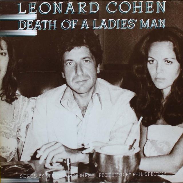 Leonard Koen i Suzana Elrod na omotu njegovog albuma Death of a Ladies' Man