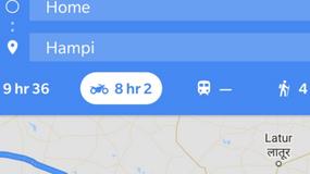 Nawigacja Google Maps pokaże też najlepszą trasę dla motocykla