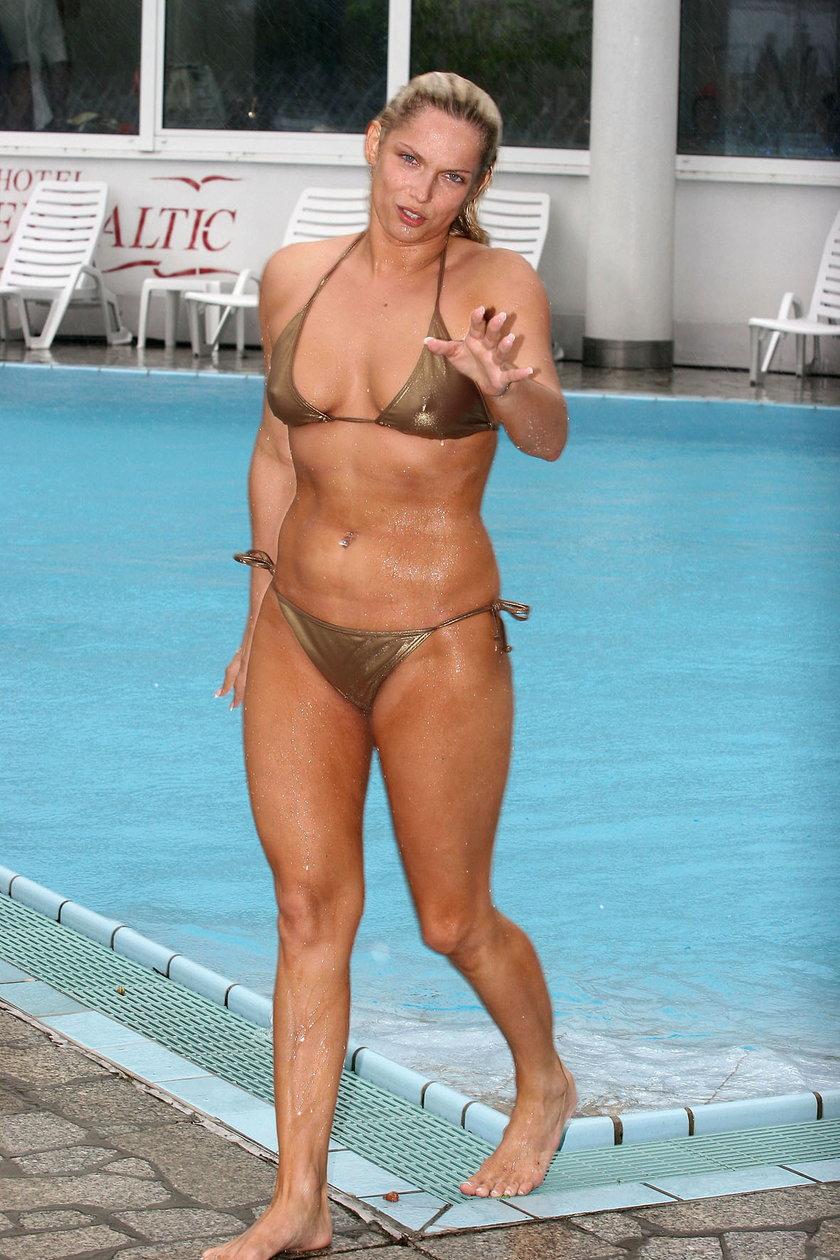 Joanna Liszowska w bikini