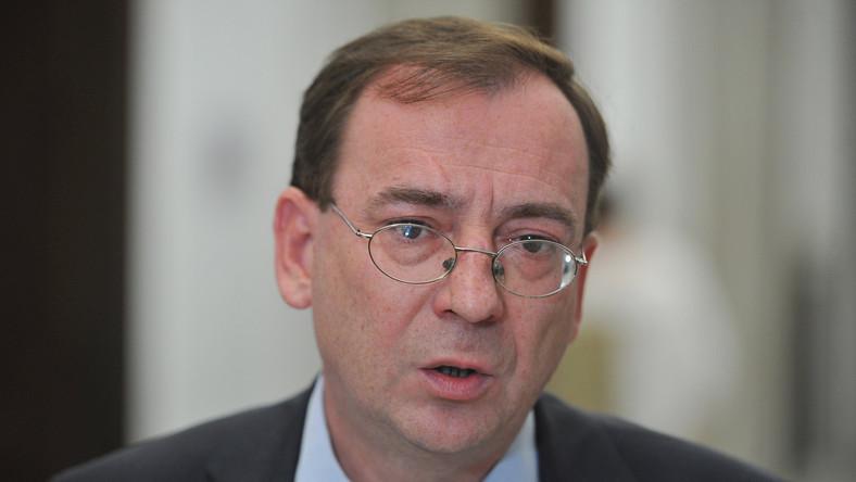 Masz Kamiński, były szef CBA