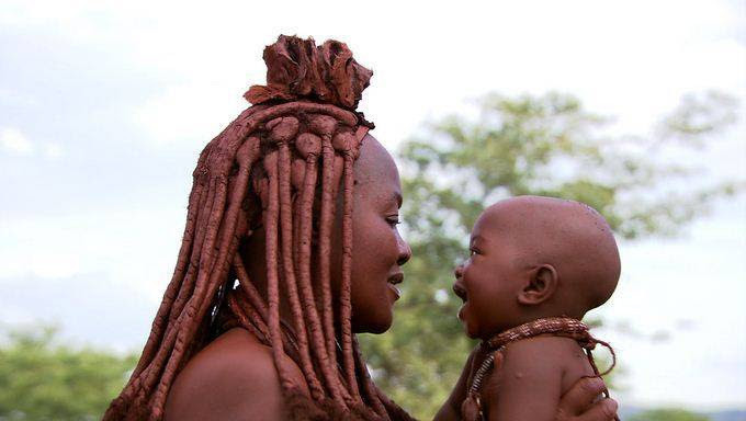 Meet the Himba tribe: Offer FREE S3X to guest; and don't bath