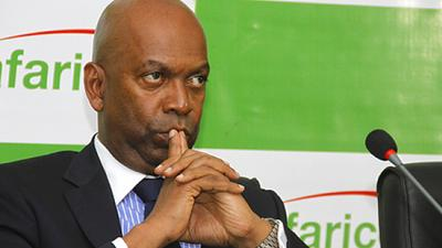 Robert Collymore, the head of Kenya's biggest telecoms firm Safaricom, to step down in August for health reasons