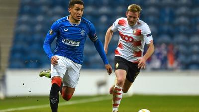 Tavernier takes champions Rangers top of Scottish Premiership table