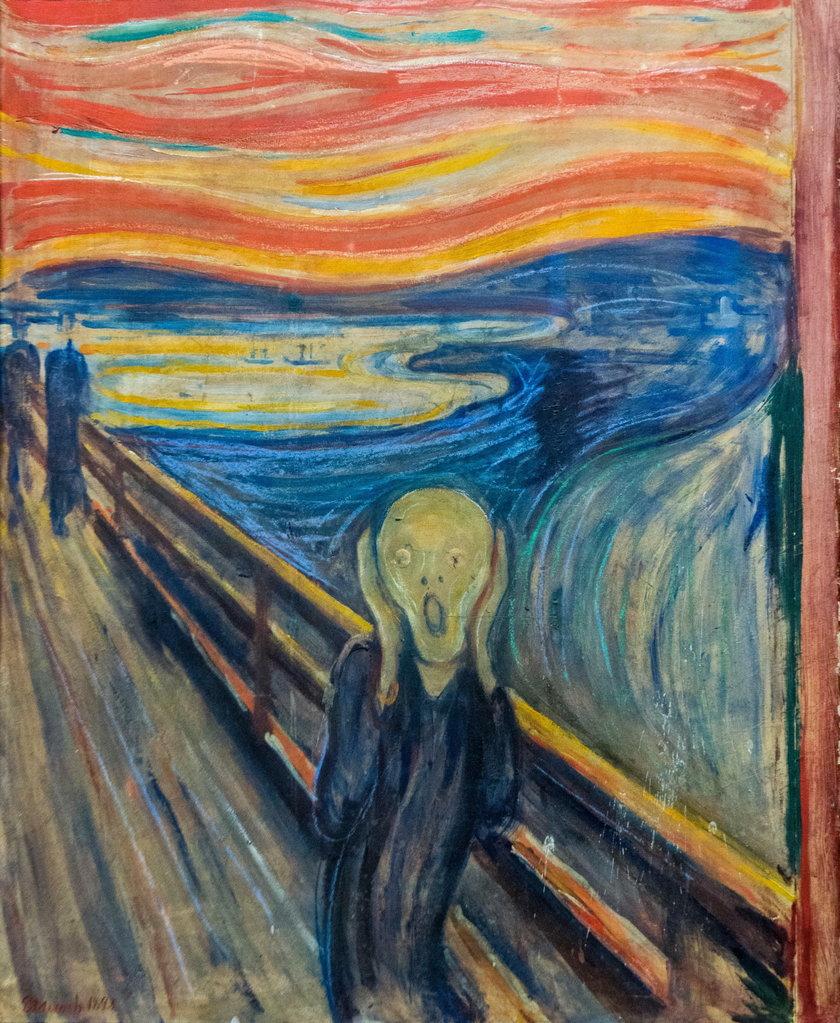 """""""Krzyk"""" Edvarda Muncha"""