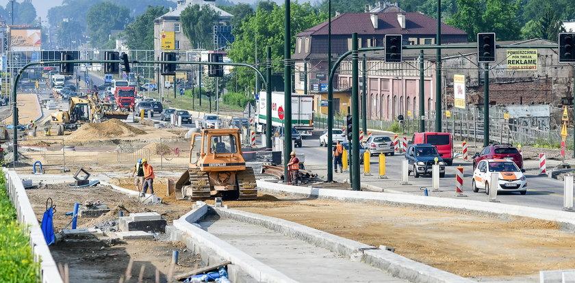 Kiedy zakończą się prace nad trasą Łagiewnicką?