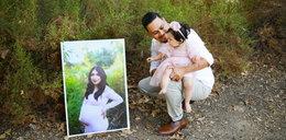 Zginęła pod kołami pijanego kierowcy. Po śmierci żony odtworzył sesję ze swoją córką. Zdjęcia łamią serce