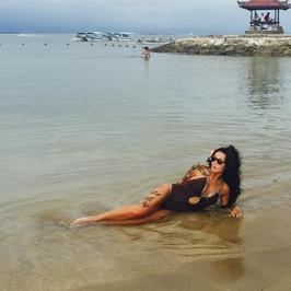 Ewa Minge kusi ciałem w stroju kąpielowym. Gwiazda pokazała dużo!