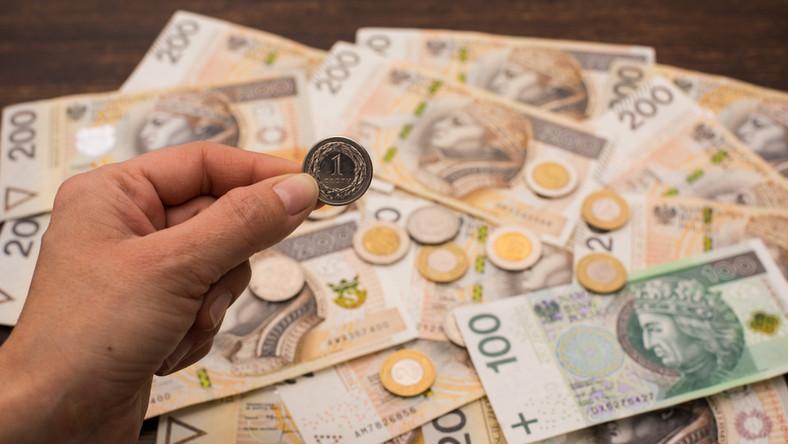 pieniądze złotówka