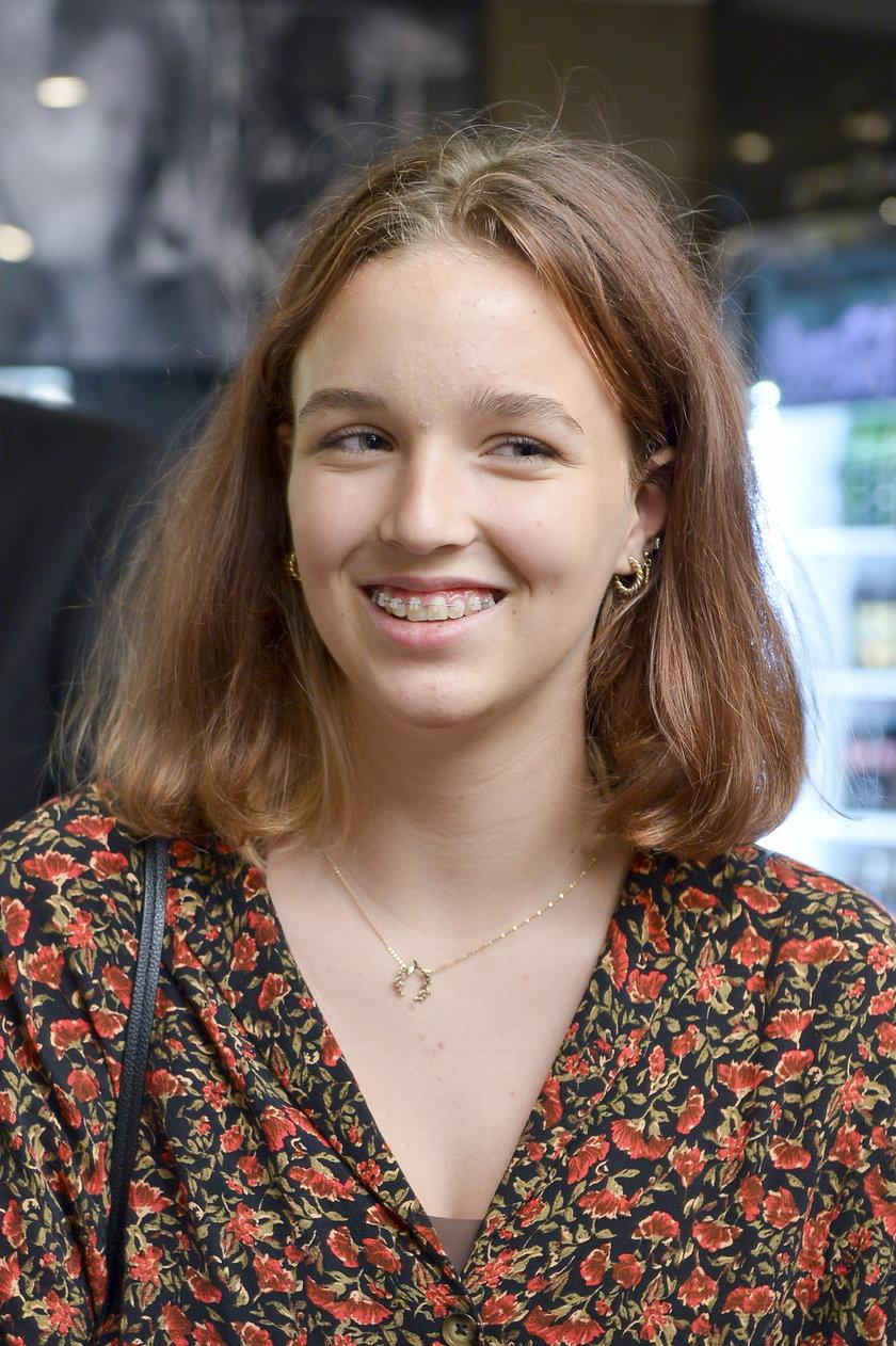 14-letnia Blanka, córka Tomasza Kota