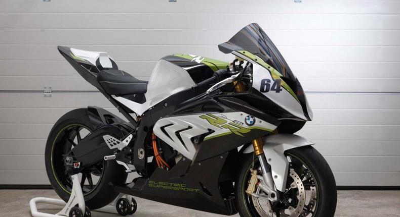 BMW eRR Sport Bike Concept