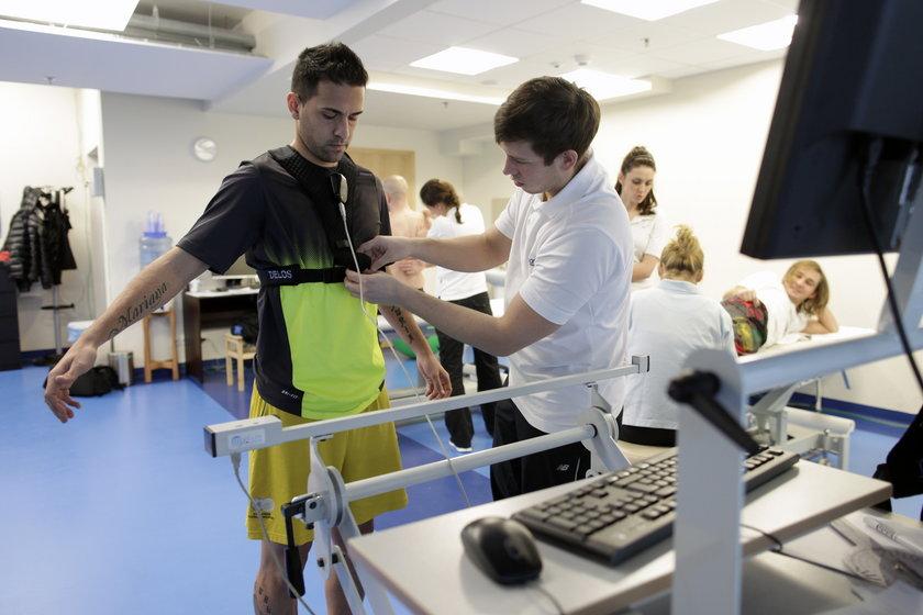 Ricardo Nunes na testach medycznych w Lechii