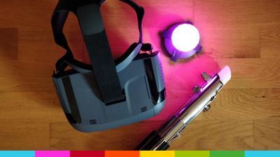 Test: Star Wars: Jedi Challenges – AR-Headset mit Lichtschwert