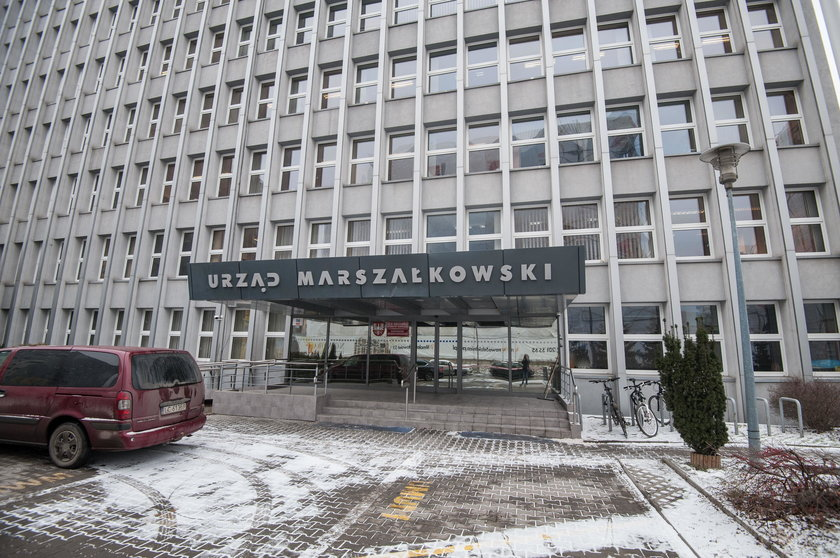 Pitniki w Urzędzie Marszałkowskim w Krakowie