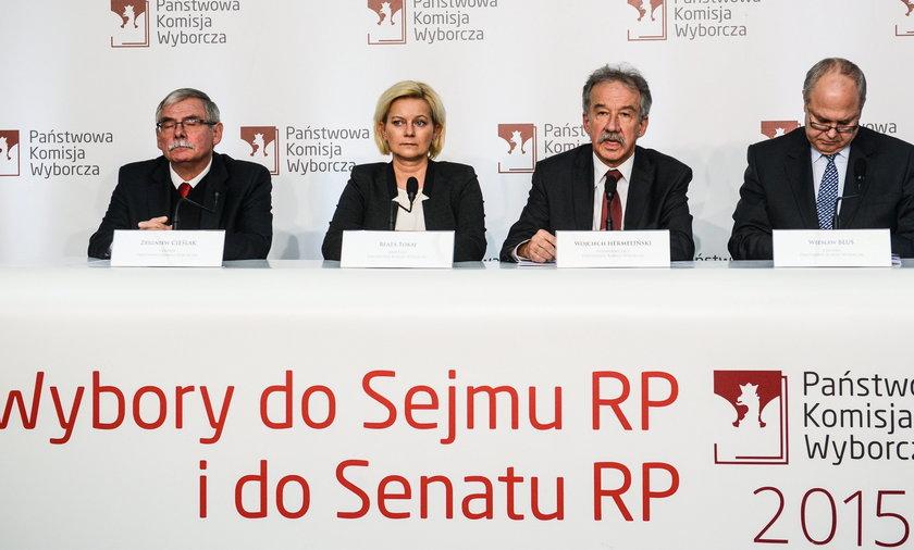 Zbigniew Cielak, Beata Tokaj, Wojciech Hermeliski, Wies?aw B?u