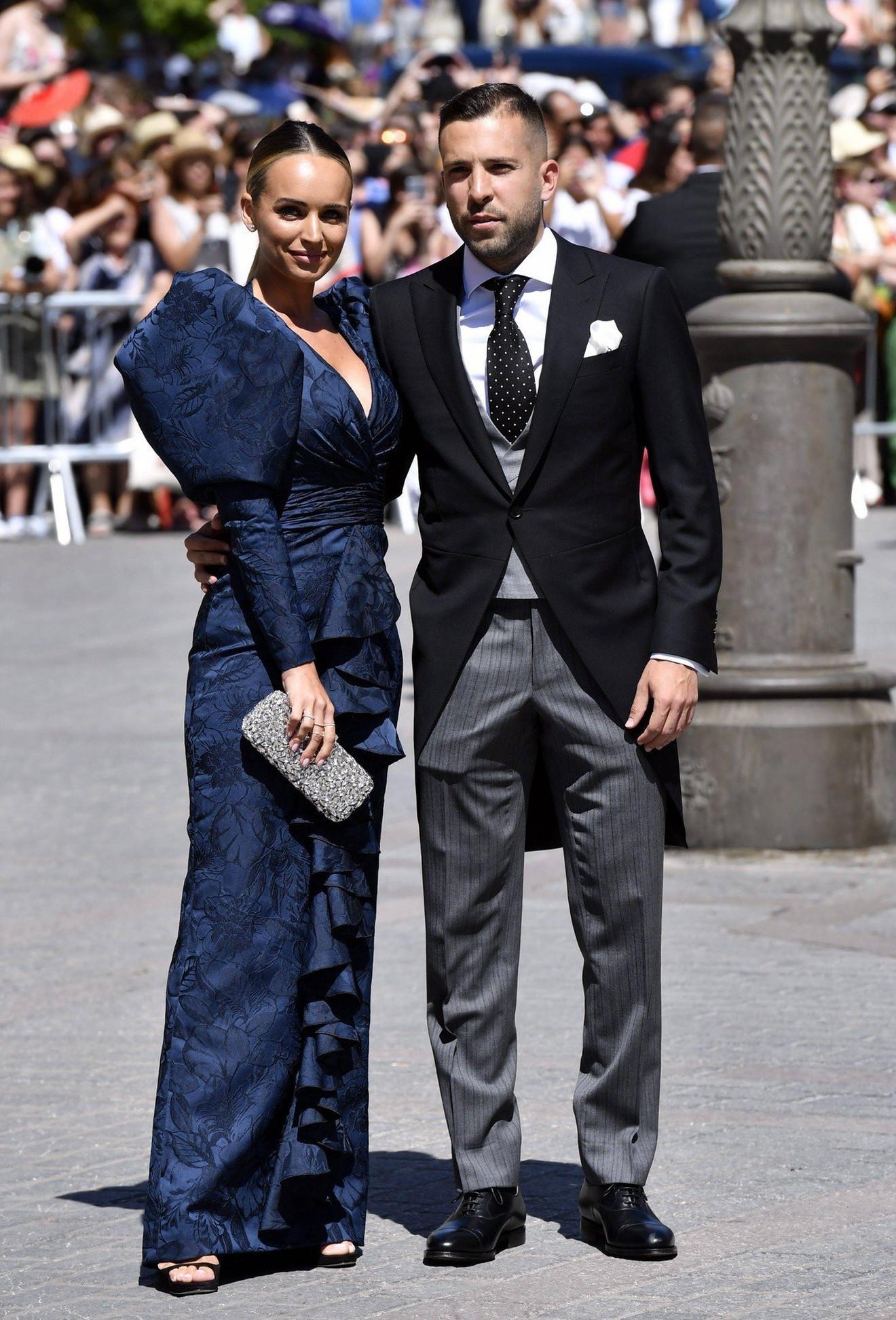 Žordi Alba sa ženom Romari