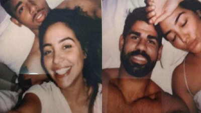 Des photos intimes de Diego Costa et Gabriel Jesus aux côtés d'une même femme fuitent dans la presse