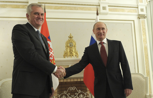 Tomislav Nikolić i Vladimir Putin