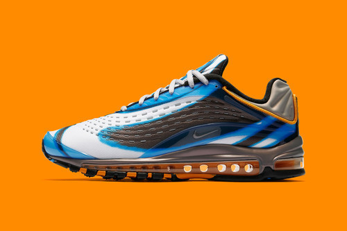 Nike Air Max Deluxe OG Wmns in Midnight Navy-Laser Orange