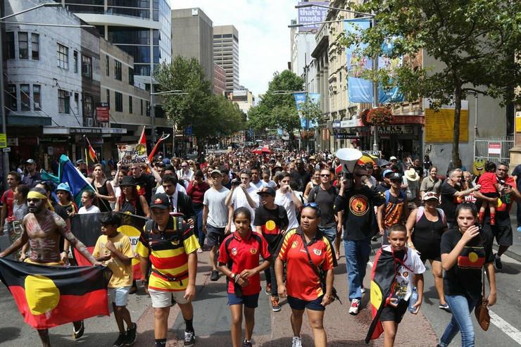 protest australija