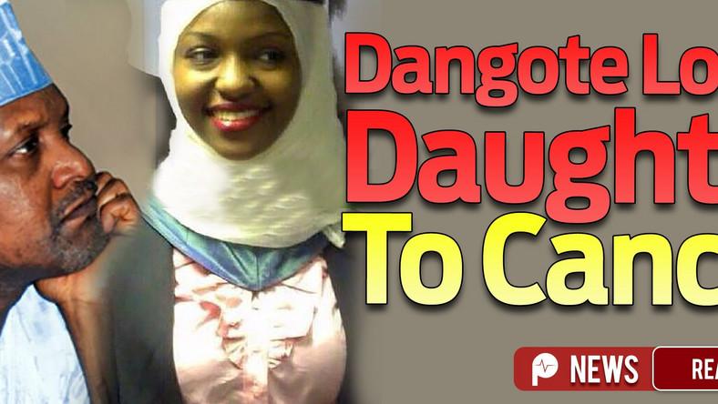 RIP Fatima Bello Dangote's daughter dies in UK after 2-yr
