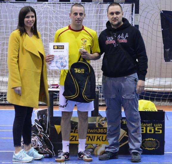 Obrad Jašić je proglašen za najboljeg igrača Zlatnog kupa