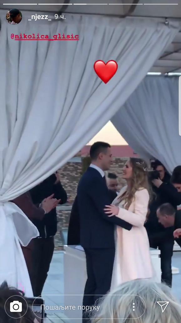 Nikola Glišić - venčanje