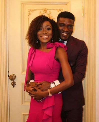 Seun Ajayi and wife, Dami welcome son [Instagram/SeunAjayi]