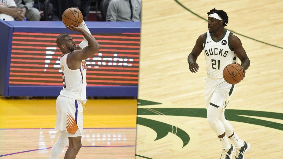 Chris Paul (Phoenix Suns) i Jrue Holiday (Milwaukee Bucks)