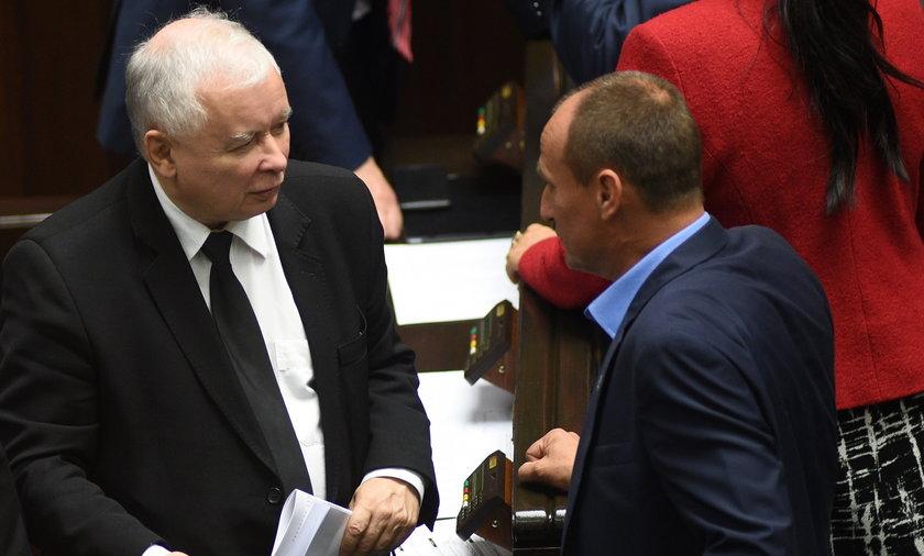 Jarosław Kaczyński i Paweł Kukiz.