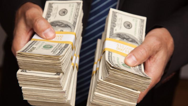 pieniądze, dolary, finanse, biznes