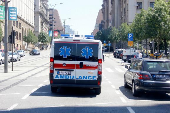 Povređen biciklista na Novom beogradu